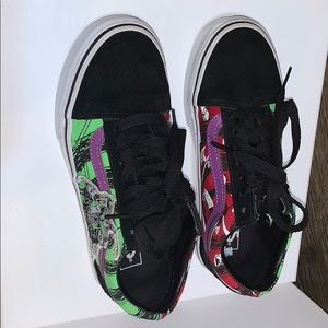 Nightmare before Christmas themed vans special